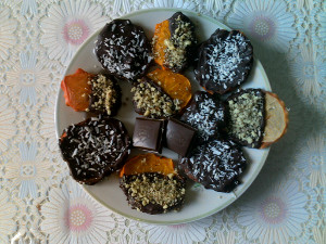 шокол десерт
